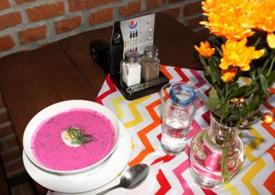 Nasza zupa dnia - chłodnik :)